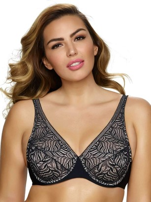 Paramour by Felina Women's Plus-Size Carolina Unlined Bra