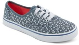 Circo Girls' Hilde Prints Lace Up Canvas Sneakers Assorted Colors