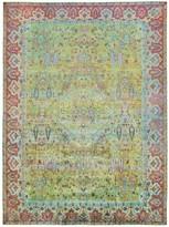 """Aura Alchemy Silk Rug - 7'7""""x10'2"""""""