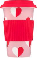 Cath Kidston Mono Hearts Ceramic Travel Mug