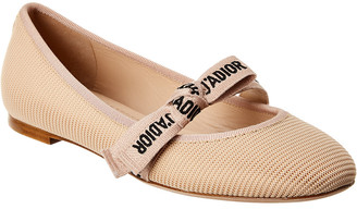 Christian Dior Miss J'adior Technical Canvas Flat