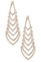 Nina Women's Crystal Chandelier Earrings