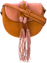 Altuzarra braided detail saddle bag - women - Calf Suede - One Size