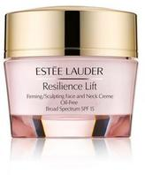 Estee Lauder Resilience Lift Firming/Sculpting Face & Neck Oil-Free Creme SPF 15