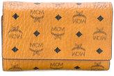 MCM trifold logo purse