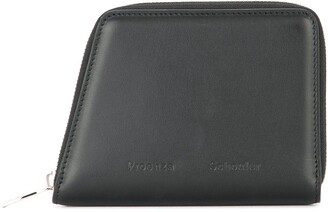 Proenza Schouler two-tone Trapeze zipped wallet