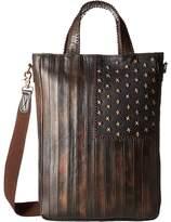 Scully Leather Patriotic Rockin Tote Tote Handbags