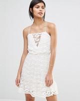 Vero Moda Strappy Lace Cami Dress