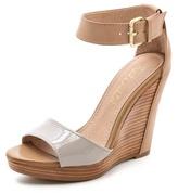 Splendid Berlin Ankle Strap Wedge Sandals
