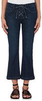 Frame Women's Le Crop Mini Boot Lace Up Jeans