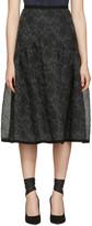 Erdem Black Malia Skirt