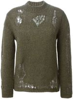 3.1 Phillip Lim distressed sweater