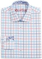 Robert Graham Boys' Windowpane Check Dress Shirt