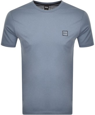 BOSS Tales T Shirt Grey