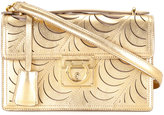 Salvatore Ferragamo metallic shoulder bag - women - Calf Leather - One Size
