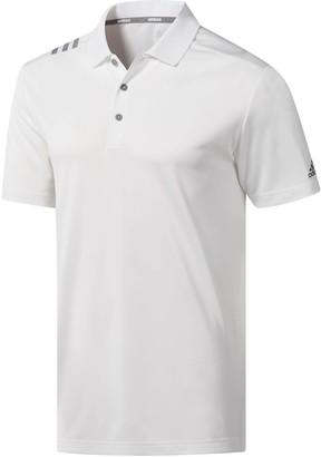 adidas Men's Regular-Fit 3-Stripe Polo