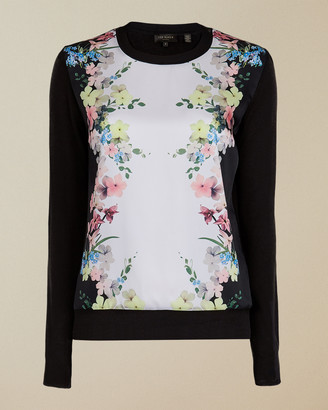 Ted Baker MADIIEY Pergola woven front jumper