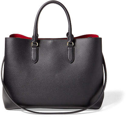 Ralph Lauren Leather Marcy Tote