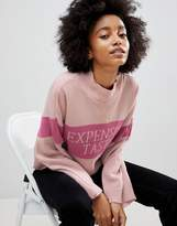 Asos Sweater With Expensive Taste Slogan