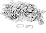 Generic 100Pcs Lingerie Adjustable Sewing Bra Rings Buckles