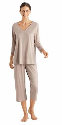 Hanro Women's Moya Crop Pajama Set