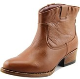 Kenneth Cole Reaction Hot Step Women Round Toe Leather Brown Bootie.