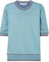 Marc Jacobs Lurex Top - Blue