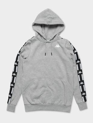 Kappa Authentic LA Bartus Hoodie in Grey