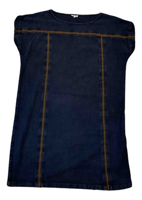 soeur Navy Cotton Dresses