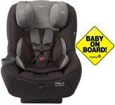 Maxi-Cosi Pria 70 Car Seat w Baby on Board Sign Total Black
