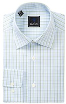 David Donahue Patterned Regular Fit Dress Shirt