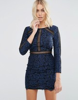 Goldie Saving Grace Floral Lace Dress With Trim Detailing