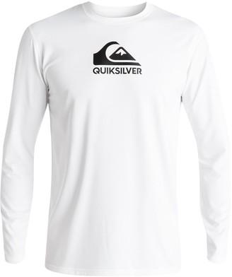 Quiksilver Men's Solid Streak Long Sleeve Rashguard