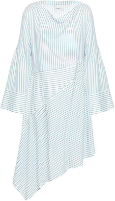 3.1 Phillip Lim Asymmetric Striped Poplin Dress