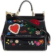 Dolce & Gabbana Love You leather shoulder bag