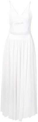 Off-White Logo Crochet Dress