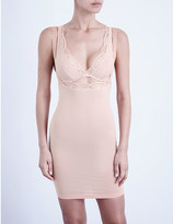 Wolford Contour lace and jersey form dress