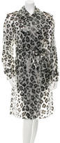 Moschino Cheap & Chic Moschino Cheap and Chic Leopard Print Belted Coat w/ Tags