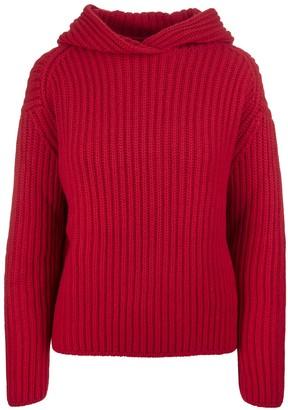 Fedeli Red Ginestrino Woman Sweater