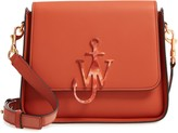 J.W.Anderson Anchor Logo Leather Box Crossbody Bag