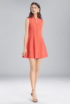 Josie Natori Textured Cotton Sleeveless Dress