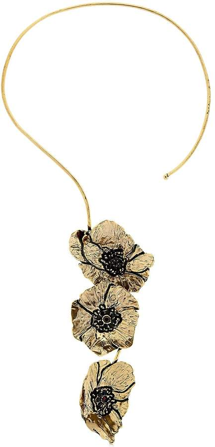 Alcozer & J Cloe Necklace With Garnets
