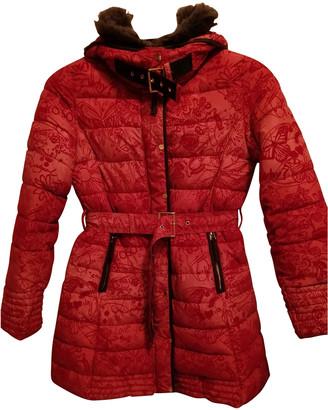Desigual Red Coat for Women