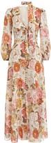 Zimmermann Bonita Long Sleeve Dress