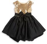Pippa & Julie Girls 7-16 Sequined Taffeta Dress
