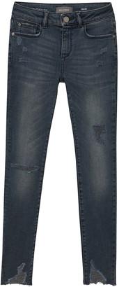 DL1961 Girl's Chloe Distressed Skinny Jeans, Size 7-16