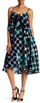 Tracy Reese Flare Flounce Print Dress