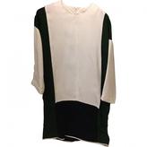 Celine White Silk Dress