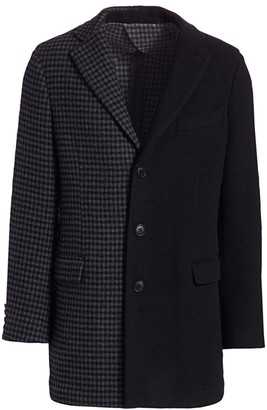 Nominee Colorblock Checker Topcoat