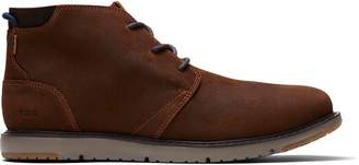 Toms Brown Leather Navi Men's Boots